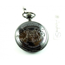 Hogwarts Pocket Watch Dumbledors Army with Belt Clip and Chain