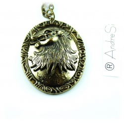 House Lennister Lion Pendant GoT