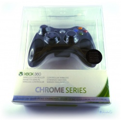 Xbox 360 Wireless Controller -Special Edition Chrome Series Black