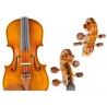 Maestro Konzertgeige mit Schnitzereien - hochwertiger Stradivari Nachbau 4/4