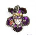 edel verzierte Venedische Karnevals Maske zur Dekoration