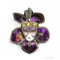 noble decorated Venedian carnival mask for decoration