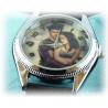 Twilight Fashion - Bella, Edward, Jacob - New Moon Analog Uhr - Stahl - Quarz Armbanduhr