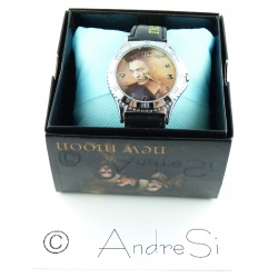 Twilight Fashion - Bella, Edward, Jacob - New Moon Analog Uhr - Stahl - Quarz Armbanduhr