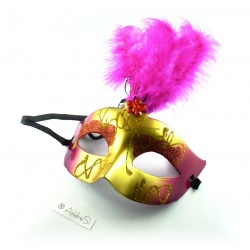 Venedian mask with luminous effect