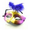 edel verzierte Venedischer Maske als Nachbildung zur Dekoration