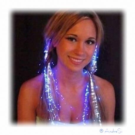 Party Haar Leuchteffekt mit LED Licht