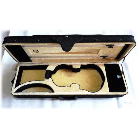 Formkoffer Violine - Geigenkoffer mit Samt und Hygrometer