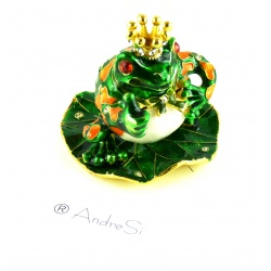 Frog King as a noble jewellery box