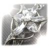 Arwens Abendstern Anh?nger aus 925er Sterling Silber mit facettenreichen Swarowski-Kristallen