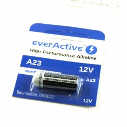 Alkaline Battery 12V A23 EVER Active - High Perfomance