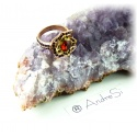 Hogwarts Ring Gryffindor, Slytherin, Ravenclaw or Hufflepuff with noble multifaceted crystals