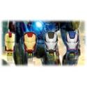 Avengers Fashion Iron Man Mark VI, Mark 42, War Machine oder Iron Patriot - 8GB USB-Stick 2.0
