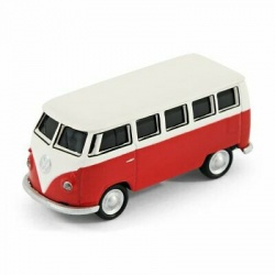 Autodrive VW Bus T1 Volkswagen Red / White 32GB USB Stick