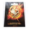 Hunger Spiele - Catching Fire - Spottt?lpel Brosche *New Design* Anstecker - Die Tribute von Panem - altgold/bronze