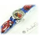 Cars Wristwatch Kids Time Kids Watch, Various Motifs - Silicone Bracelet Blue/Colorful