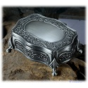 noble jewelry casket with folding lid bsw. for H.d.Rings Arwens Evening Star or similar