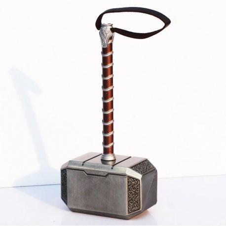 Thor Hammer Mjölnier - originalgetreue Mini-Replik 20cm als Schreibtisch-Deko