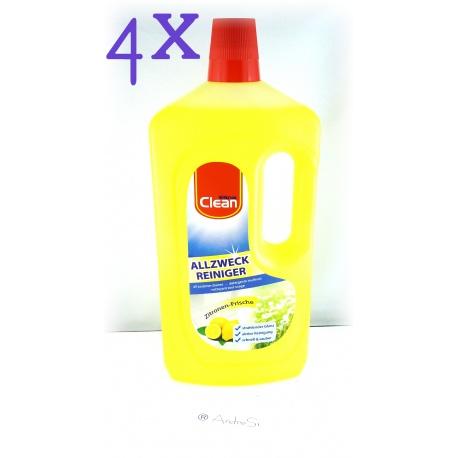 5er Pack Allzweckreiniger CLEAN 1000ml Zitruskraft