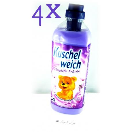 Kuschelweich Weichspüler 990ml Magische Frische 6er