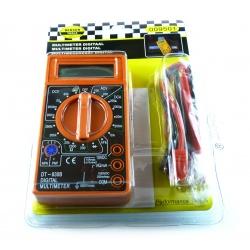 Digital Multimeter HÖFFTECH Strom- Vielfach-Messgerät Voltmeter Spannungsprüfer