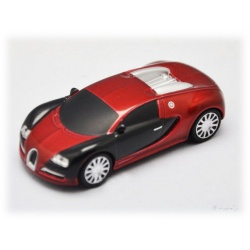 Bugatti Veyron Red / Black 8GB Car USB Stick Fash Drive
