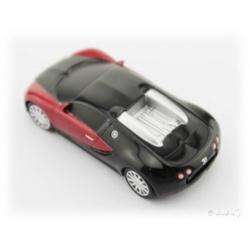 Bugatti Veyron schwarz / rot 8 GB Auto-USB-Stick Fash-Drive