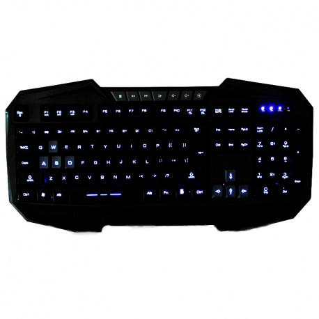 englische Tastatur 104 Tasten backlight gaming keyboard wired usb Prof USB (K145U)