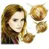 Hermine Zeitumkehrer Ohrringe +Anhänger Set - H.Potter Time-Turner 18K vergoldet