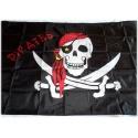 Pirates Flag Flag Skull Skull Pirate 90 x 150 cm - Weatherproof Quality