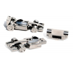 Formula 1 racing car usb stick chrome USB memory stick 8GB - USB 2.0 - silver