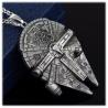 Millennium Falke / Falcon Star War's HQ Anhänger mit Edelstahlkette