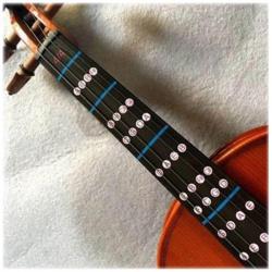 2x Finger Guide 4/4 Violine Spielhilfe für fortgeschrittene Einsteiger / Anfänger