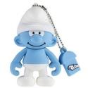 Tribe Clumsy Schlumpf 4GB Speicherstick USB 2.0 blau/weiß