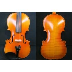Maestro Konzertvioline hochwertiger Stradivari Nachbau 4/4 aus ausgesuchten Tonhölzern