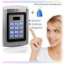 Contactless RFID code lock, door opener, open with RFID transponder or (and) password, 125khz, code keyboard