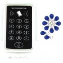 Berührungsloser OUTDOOR RFID Türöffner AndreSi inkl. Klingelknopf + 10Stück Transponder