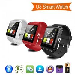 Luxus Bluetooth Smart Watch u8 (Schwarz, Weiss oder Rot)