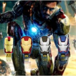 8GB USB-Stick Iron Man Mark VI, Mark 42, War Machine oder Iron Patriot