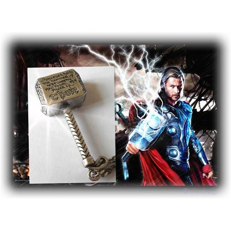 Avengers Thor's Hammer Mj?lnir als Anh?nger oder Schl?sselanh?nger