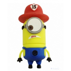8GB USB Stick Funny Male (Firefighter Eye)