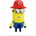 8GB USB Stick Funny Male (Firefighter Two Eye) with LED