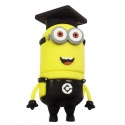 8GB USB Stick Funny Male (Student Two Eye) with LED