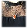 Bonnie's Anh?nger, vergoldet und schattiert, Vampire Gothic Fashion, Diaries Punk-Style