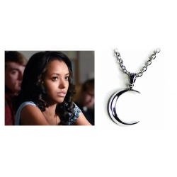 Bonnie's moon necklace with the Bennett family's crescent-shaped moon pendant