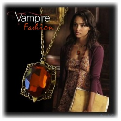 Bonnie's Pendant, Gilded and Shaded, Vampire Gothic Fashion Punk Style