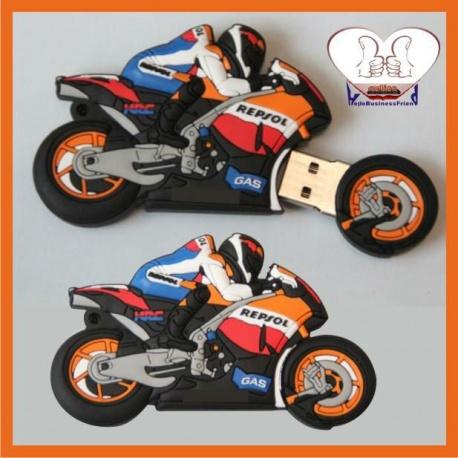 Honda Motorrad Racing - 8GB USB Stick 2.0 - Motorace Motobike