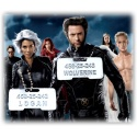 Wolverine / Logan Identification Tag *New Design* - - incl. supple ball chain