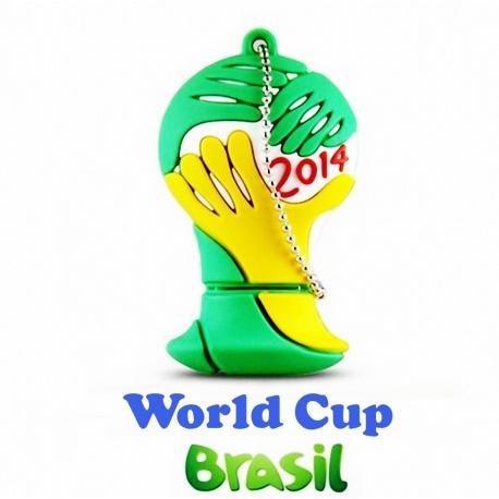 Fu?ball WM Brasilien Pokal 2014 - 32GB USB 3.0 Stick