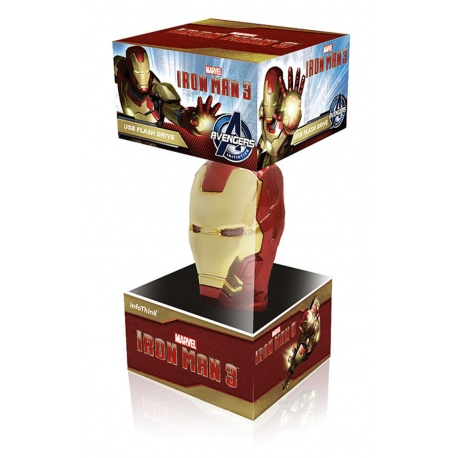 Marvel Avengers Iron Man in Box 8GB USB-Stick f?r PC / Laptop